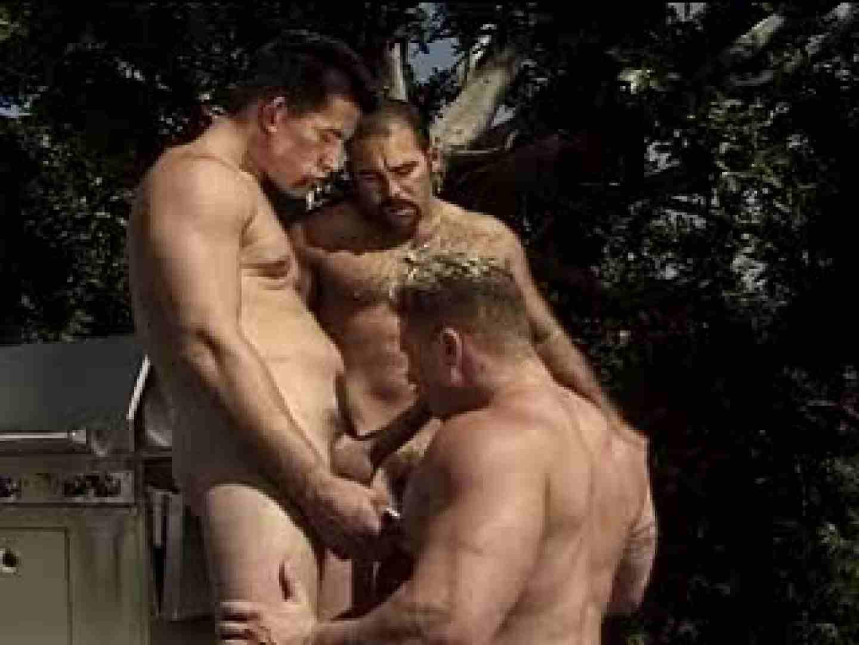 ムキムキマッチョのGAYポリスのSEXライフ 複数セフレプレイ ゲイセックス画像 71pic 31