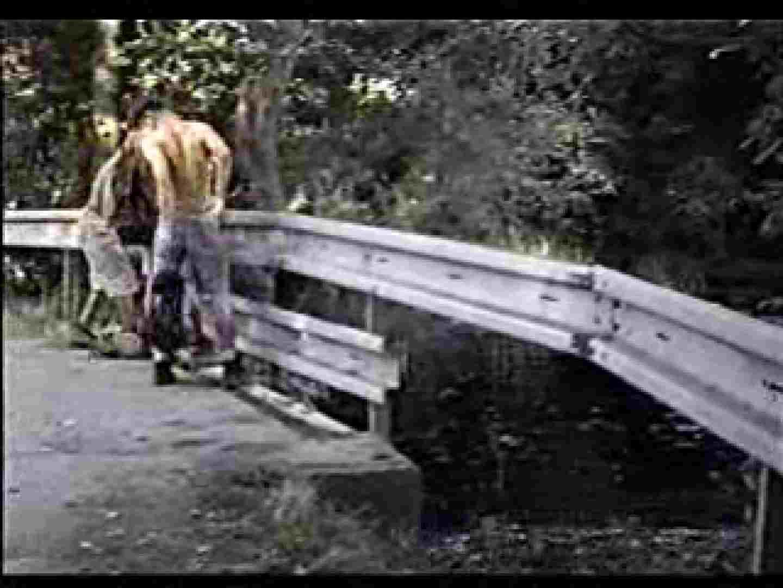 仲良し外人さんの野外プレイ アナル舐め   プレイ動画 ゲイ肛門画像 111pic 1
