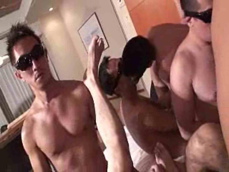 ♂だらけの大乱交祭り!! アナル舐め ゲイセックス画像 68pic 48