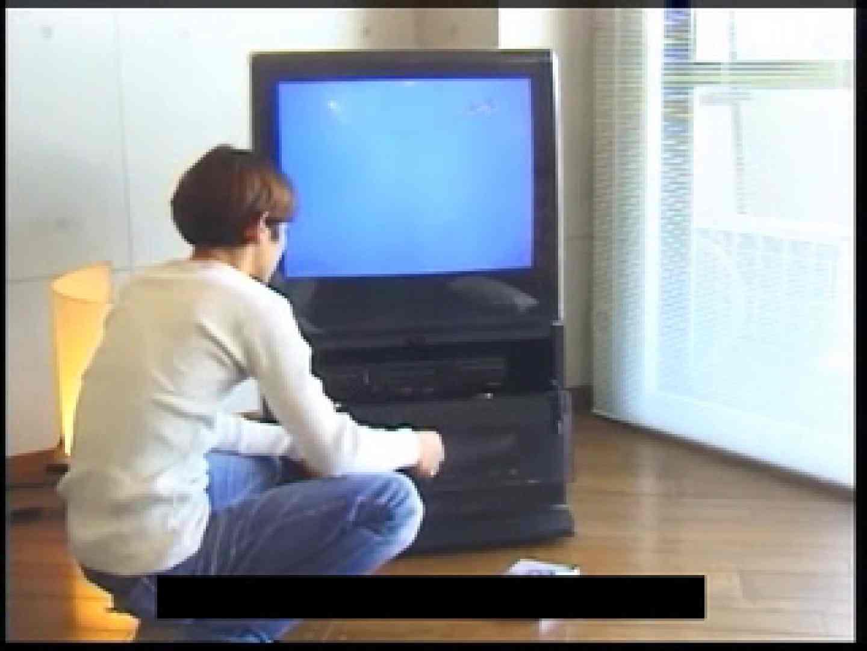 ビデオを見てオナニー中! ! ビデオの男優さんが現れた 玩具 ゲイ無料エロ画像 45pic 14