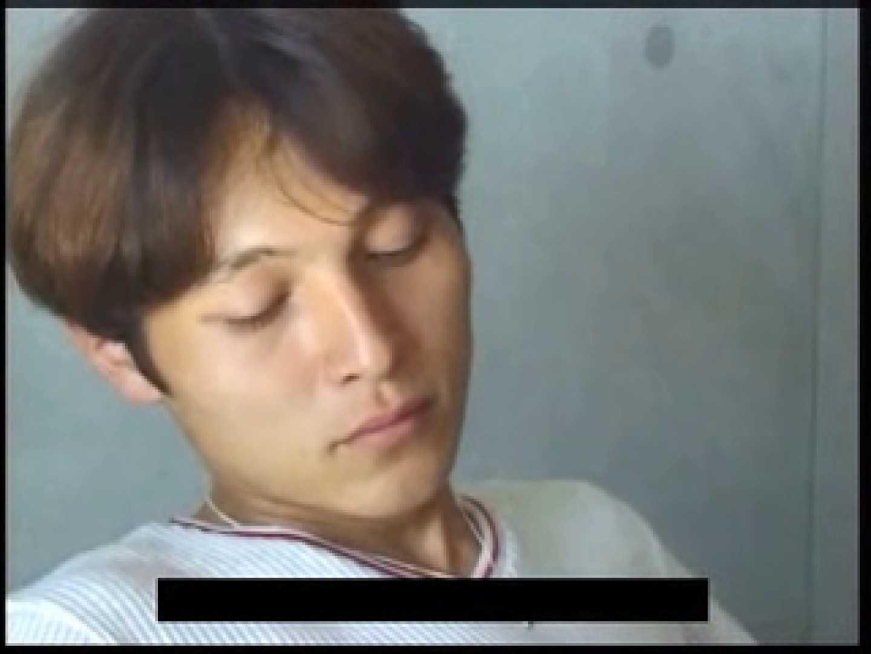 ビデオを見てオナニー中! ! ビデオの男優さんが現れた アナル舐め ゲイ無修正動画画像 45pic 21