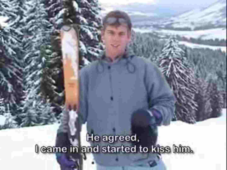 白人さん! ! 冬の山頂ロッジで ファックファック イケメンパラダイス ゲイセックス画像 87pic 21