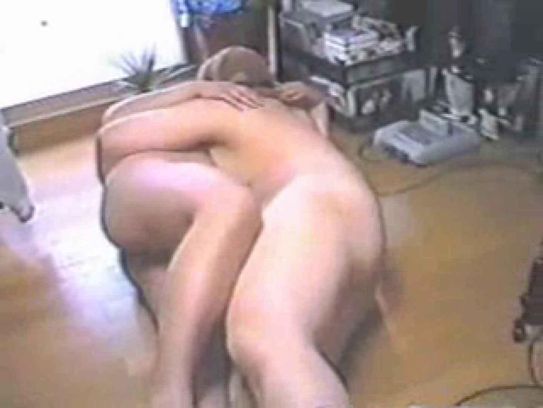 パンスト男! ! 自宅での絡み合い デブ 男同士画像 64pic 64