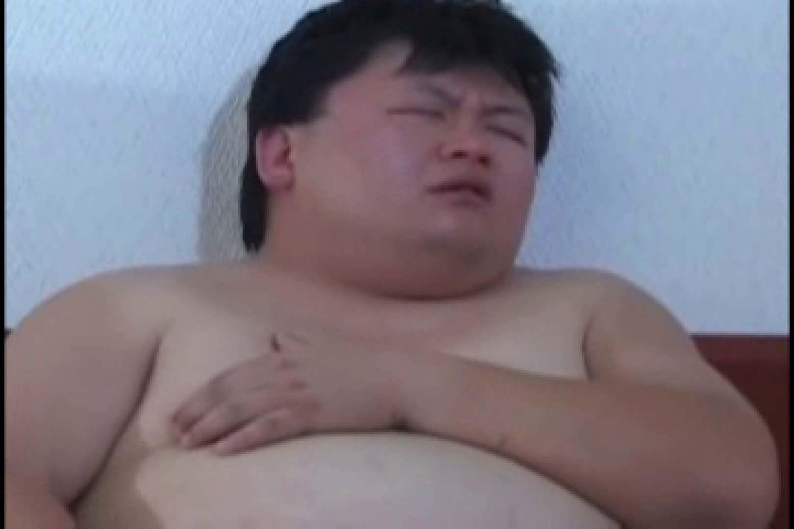 オデブなメガネ君のオナ&アナル攻め! 仰天アナル ゲイ無修正ビデオ画像 68pic 12