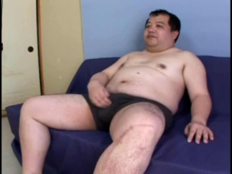 豚旦那の直立オナニー! 四つん這い | オナニー ゲイセックス画像 61pic 1