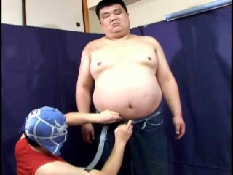 太っちょ縛ってボンレスファック! アナル舐め ゲイ無修正画像 47pic 29
