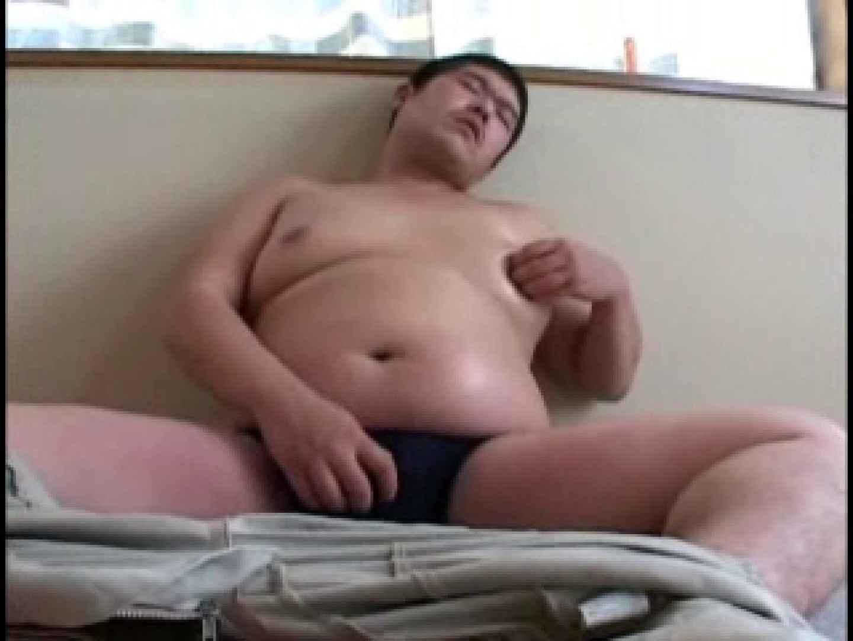 デブ男子の自慰行為!ポチャ汁ドピュ! アナル挿入   オナニー ゲイザーメン画像 100pic 61
