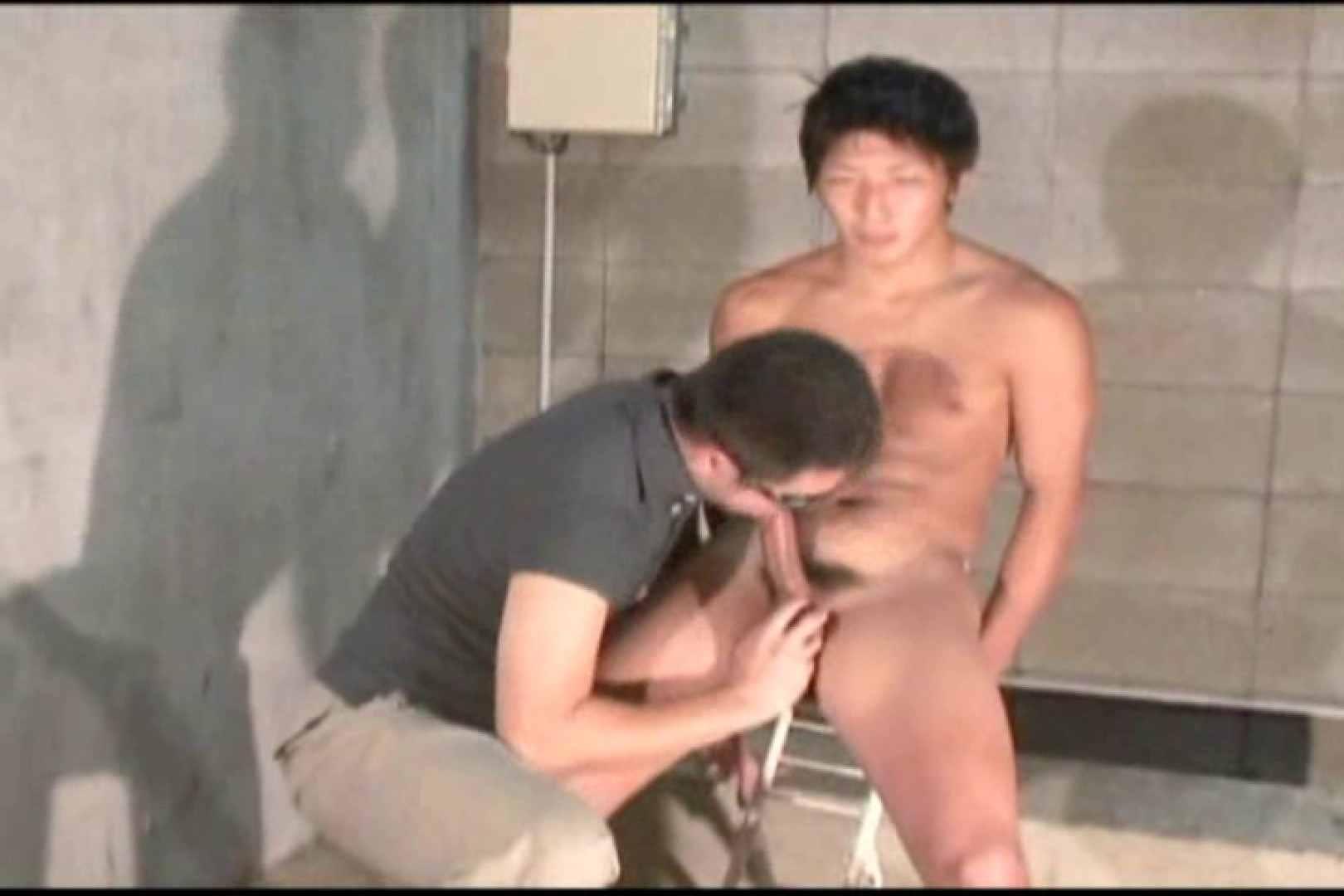 機械室で体育会系男子を手コキ&フェラ!! 手コキ ゲイアダルト画像 96pic 18
