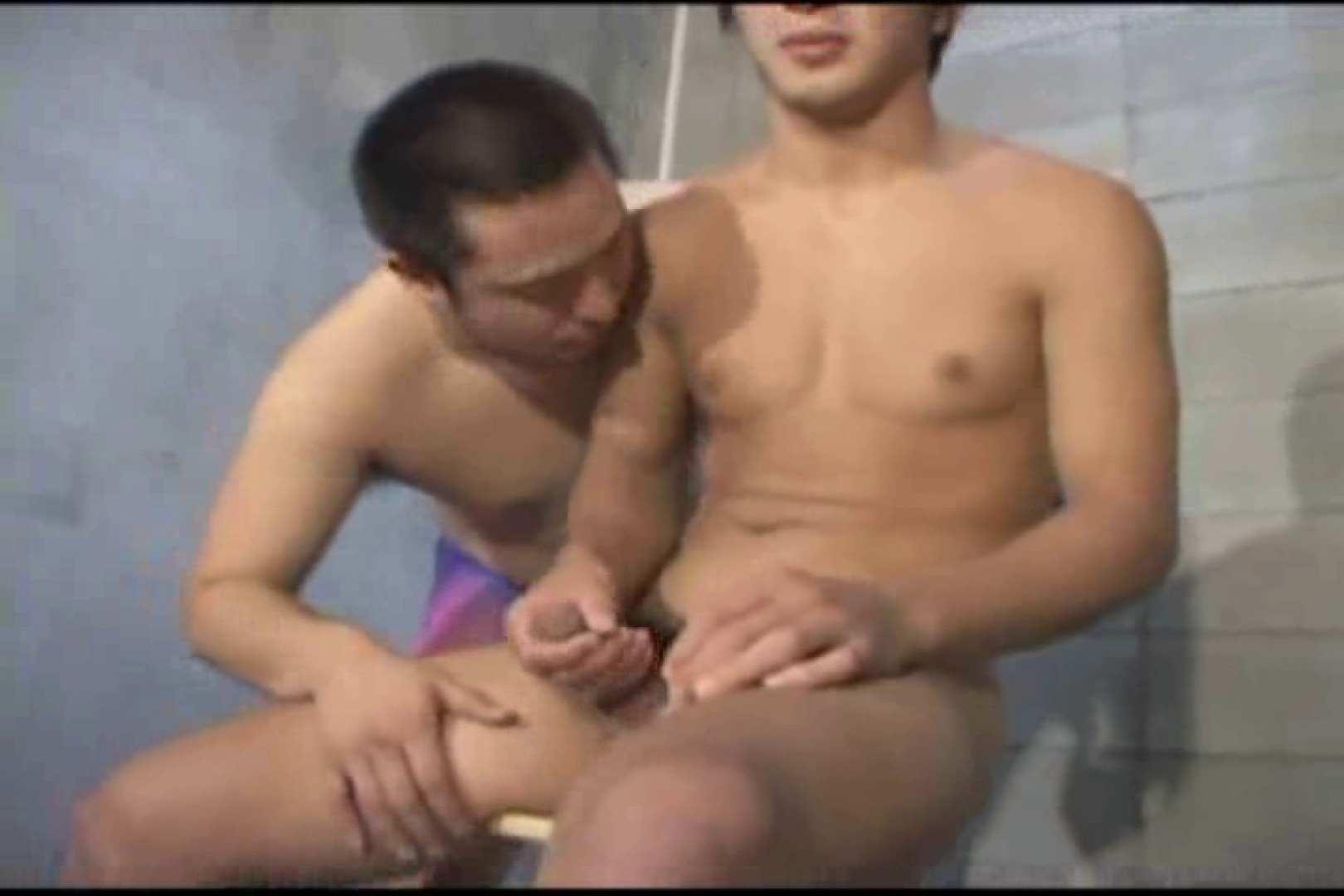 機械室で体育会系男子を手コキ&フェラ!! ガチムチ 亀頭もろ画像 96pic 48
