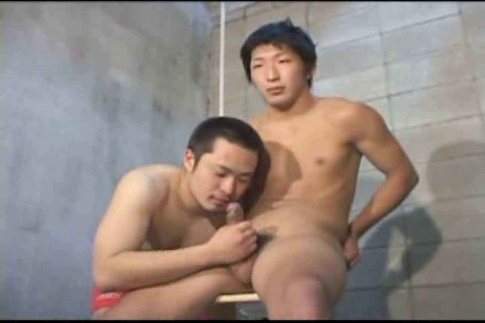 機械室で体育会系男子を手コキ&フェラ!! 手コキ ゲイアダルト画像 96pic 58