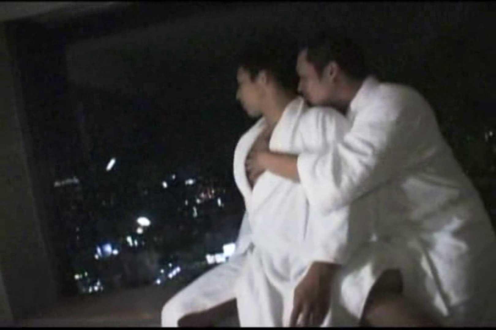 ホテルで密会!!夜景をバックに濃密ファック!! 裸特集 | バックシーン ゲイザーメン画像 91pic 1
