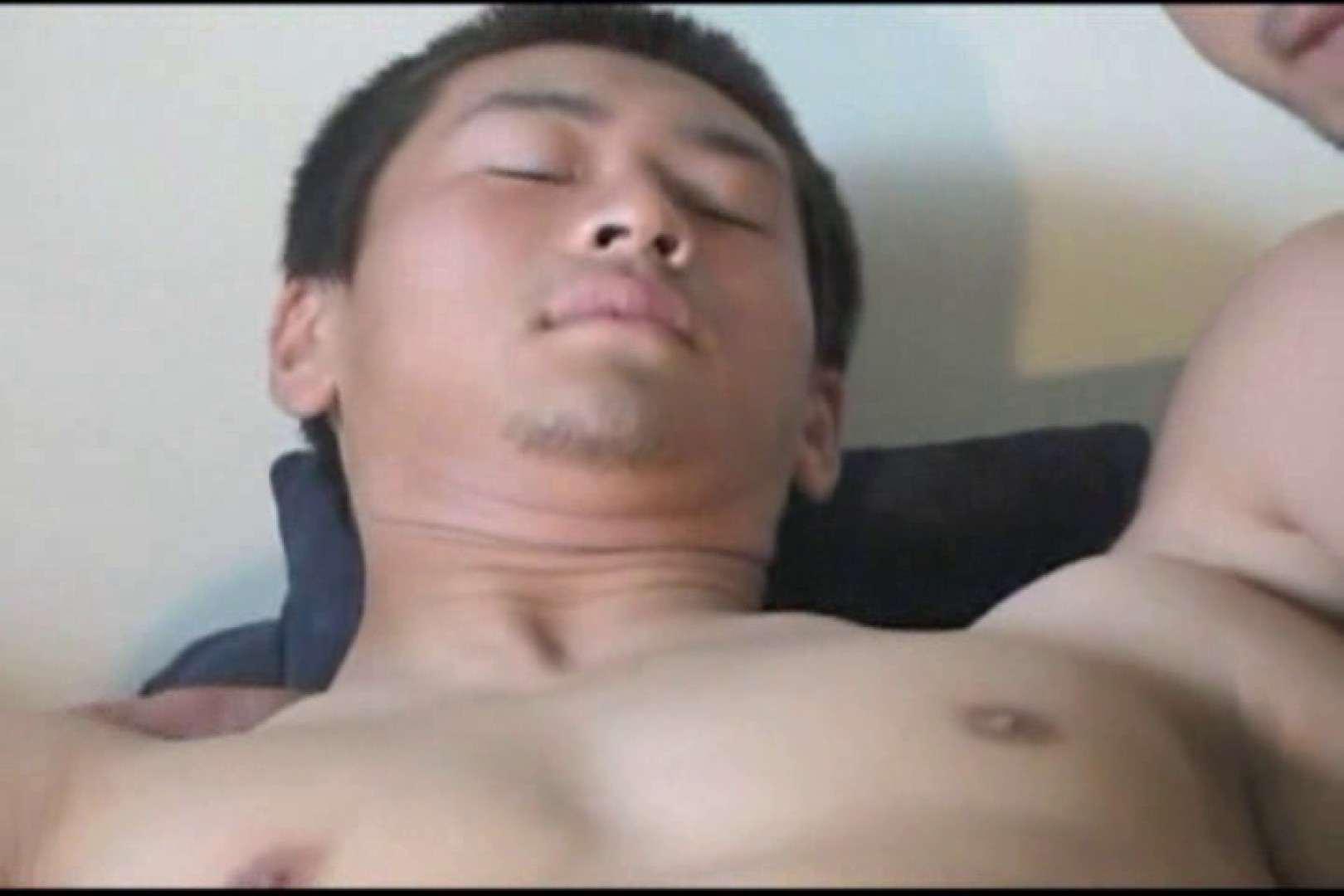 ノンケガチムチ男子の男イキ初体験!! 無修正 ゲイエロビデオ画像 110pic 24