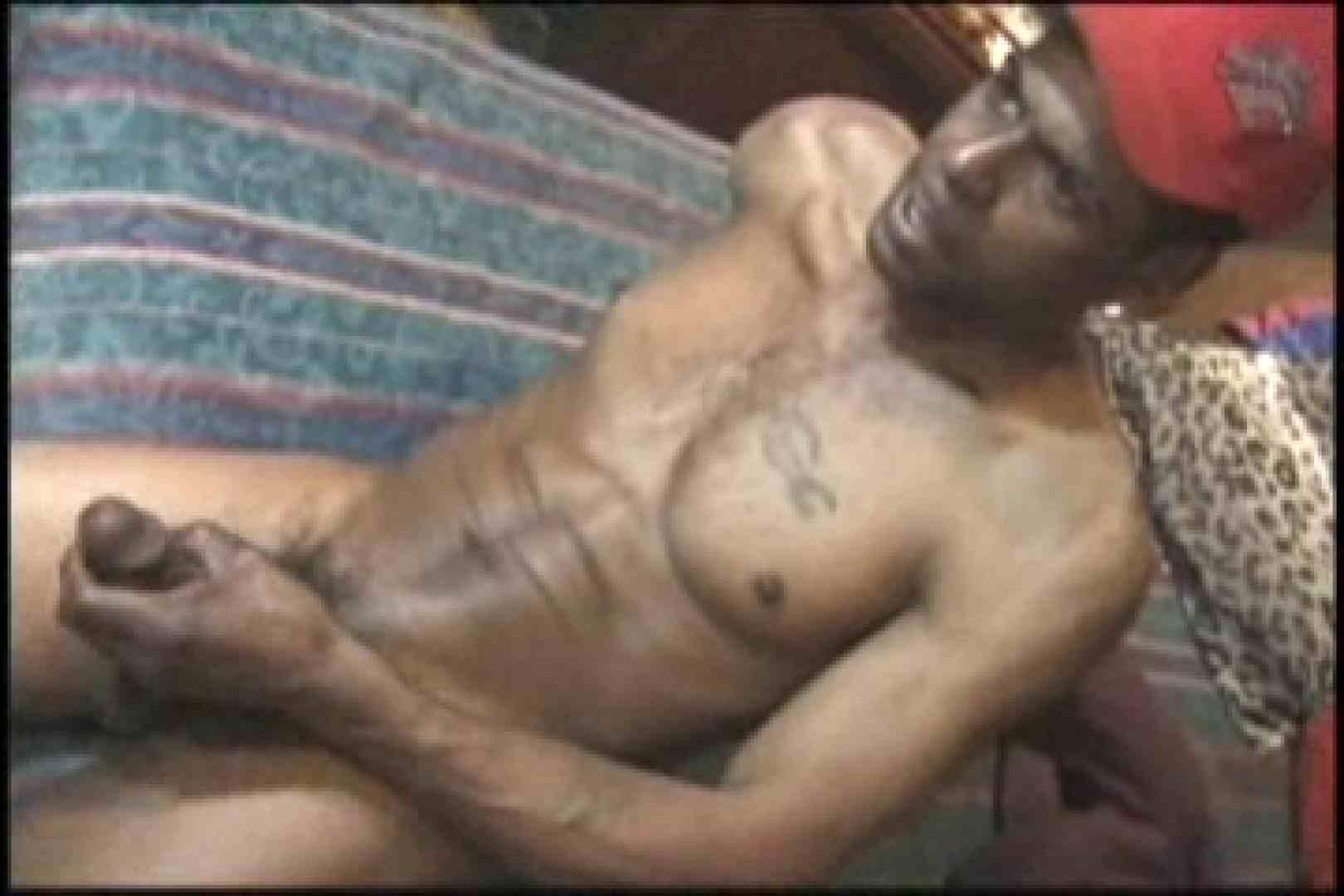 ファンキーな黒人さん!!BLACK POWER 01 肛門中出し ゲイ無修正動画画像 61pic 24
