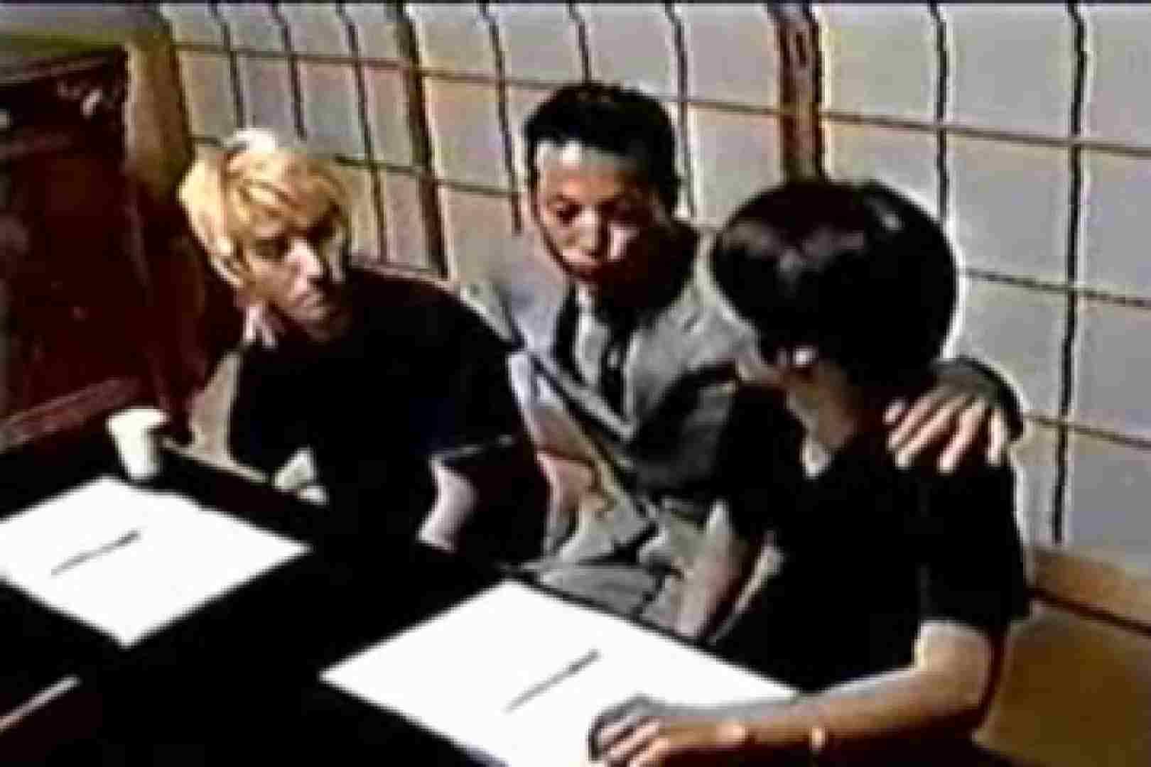 発掘!!10年前のVHSお宝ゲイ動画!! 縛グッズプレイ ゲイエロビデオ画像 71pic 15